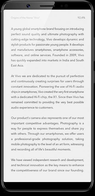 Vivo V7plus | Vivo Global
